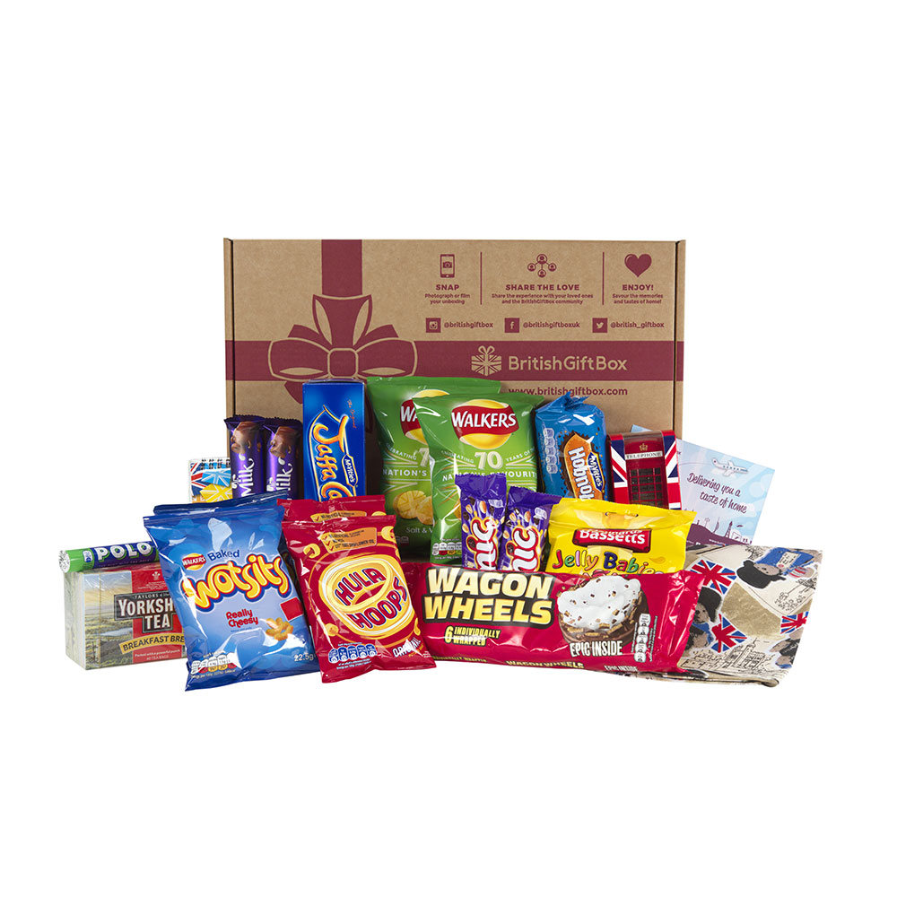 British Gift Box - Nibbles Boxes