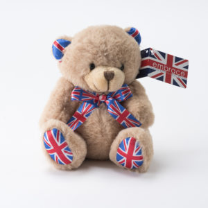 Union Jack Teddy British Gift