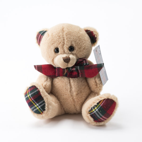 Tartan Scottish Small Teddy Bear Gift