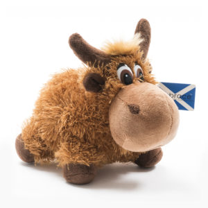 Highland Coo Soft Toy Gift