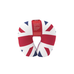 British Union Jack Micro Beaded Travel Neck Pillow Gift
