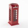 British Red Telephone Box Money Box